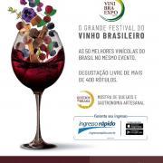 ViniBraExpo 2018 | O Grande Festival do Vinho Brasil...