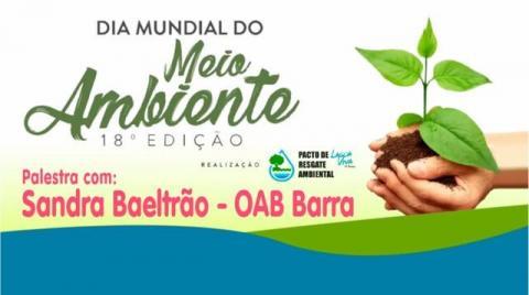 Dia Munidal do Meio Ambiente | Sandra Beltrão - Educação Ambiental