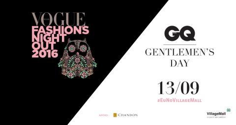 Vogue Fashion's Night Out + Gentleman's Day 2016
