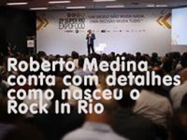 29º Super Rio Expofood - Palestra Magna com Roberto Medina