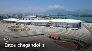 O Parque Olímpico está quase pronto.