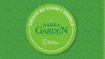 Chamada- Circuito Rio Vegano e Orgânico no Barra Garden