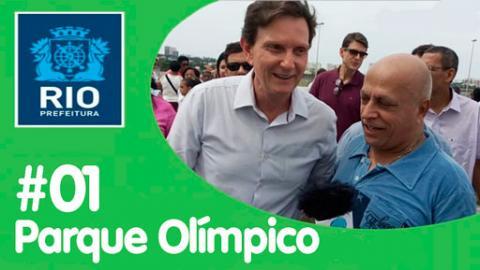 """""""Via Olímpica"""" - nova área de lazer do Rio - #1"""