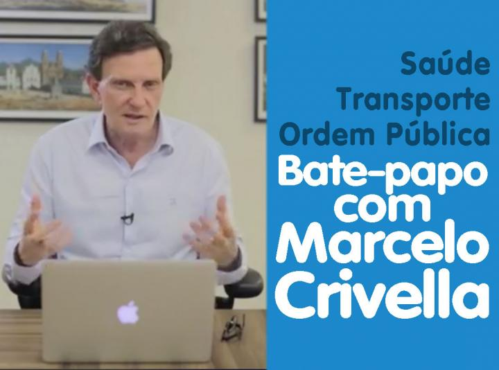 Bate-papo com Marcelo Crivella | Saúde e Transporte