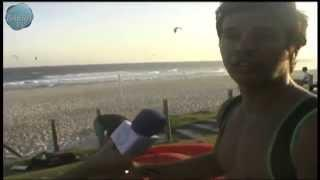 Aprendendo Kitesurfe com Claudio Almeida do Club Kite