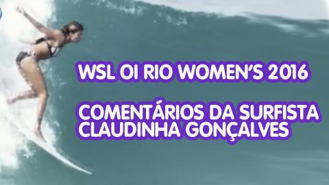 WSL - OI RIO PRO 2016 - Claudinha Gonçalves
