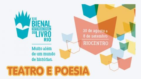 Abertura - Teatro e Poesia | 19ª Bienal do Livro Rio