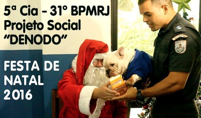 "Festa de Natal do Projeto ""Denodo"" - Morro do Banco"