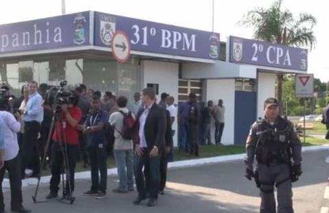 Inauguração Da 2ª Cia Destacada Da Barra Da Tijuca