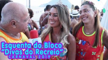 "Esquenta do Bloco ""Divas do Recreio"" 