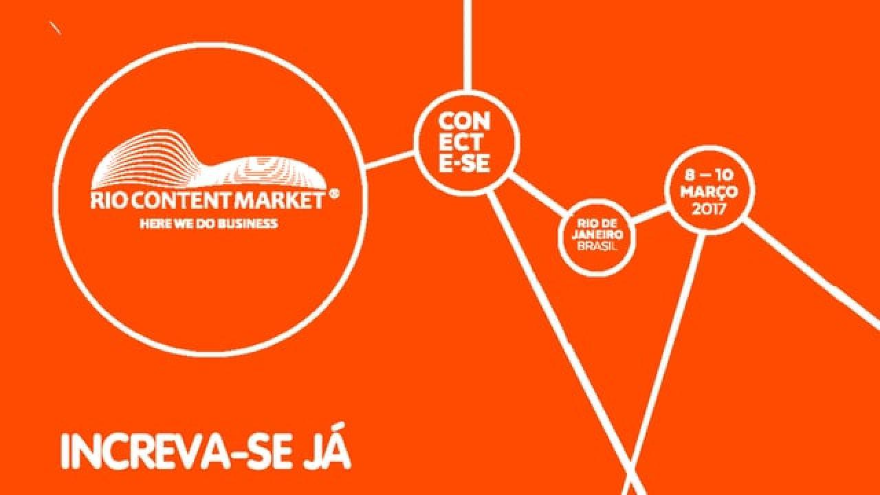 Inscrições para o Rio Content Market 2017