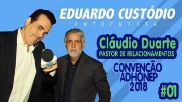 Eduardo Custódio Entrevista | Cláudio Duarte #01