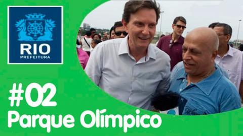 """2ª Parte - """"Via Olímpica"""" - nova área de lazer do Rio"""