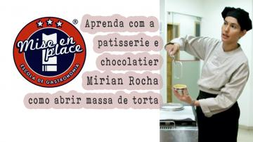 Aprenda a abrir massa de torta | Mirian Rocha