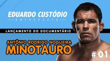 Eduardo Custódio Entrevista | Lançamento de Documentário do Minotauro # 01