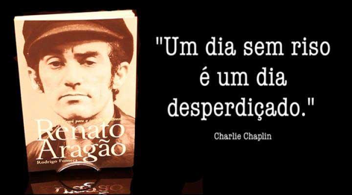 CHAMADA | Lançamento do livro de Renato Aragão
