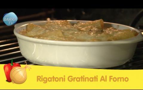 Receita - Rigatoni Gratinati Al Forno - Deise Muger