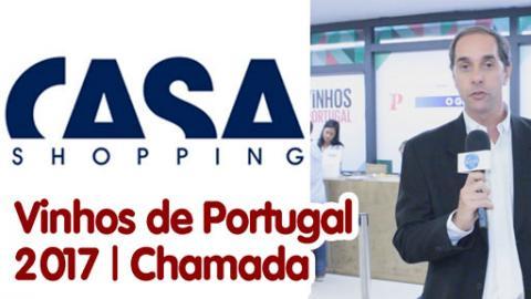 Chamada para Vinhos de Portugal Rio 2017