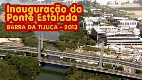 Ponte Estaiada - Barra