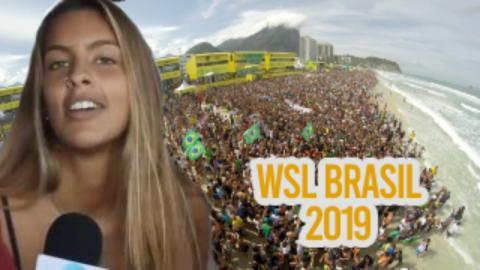 Bastidores do OI RIO PRO - Giulia Gallart