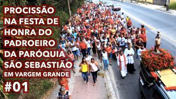 Procissão | Festa de São Sebastião #01