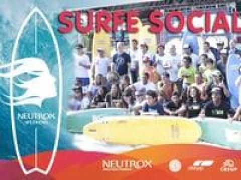 "NEUTROX WEEKEND - Entrega das pranchas - ""Surfe Social"""