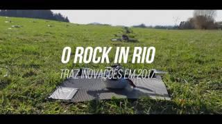 Drones iluminam a nova Cidade do Rock | Rock in Rio 2017