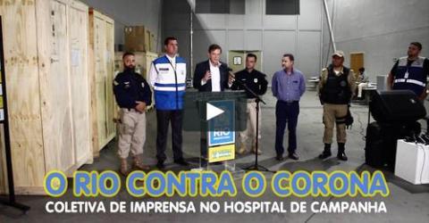 Coletiva de Imprensa | RIO CONTRA O CORONA