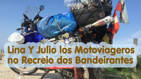 Lina Y Julio Motoviajeros no Recreio | TURISMO