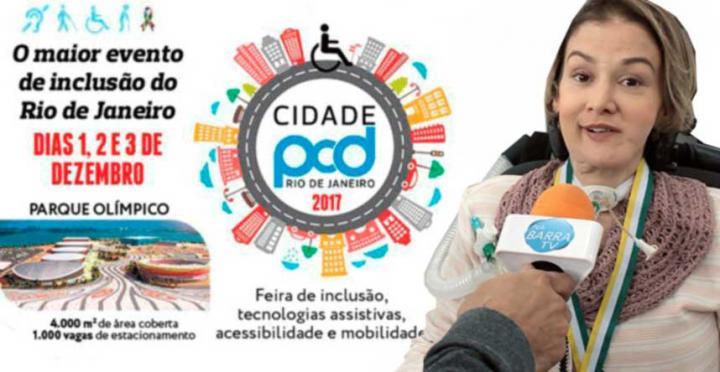 CIDADE PCD | chamada Luciana Novaes