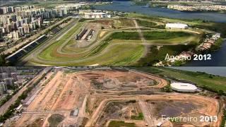 Obras na Barra preparam a cidade para a Rio 2016 | Cidade Olímpica