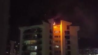 Incêndio no Cond. Riviera Dei Fiori