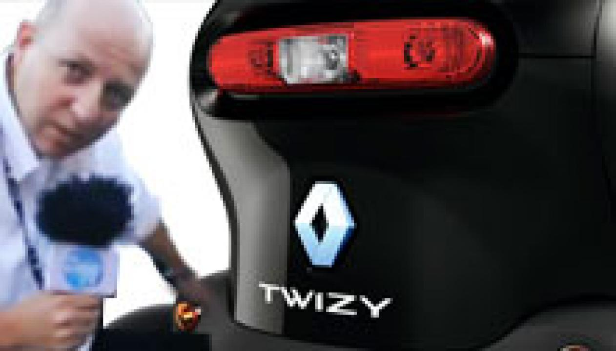 Teste do Renault TWIZY