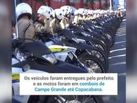 Motocicletas para Guarda Municipal