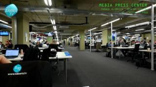 Media Press Center - Rio de Janeiro - Olimpíadas 2016