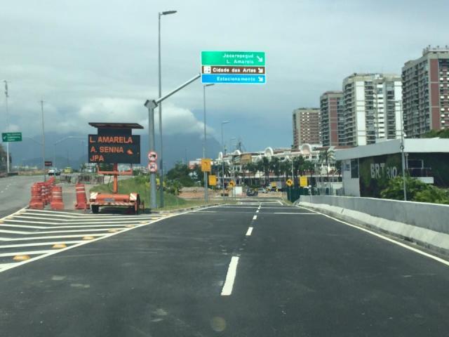 Mergulhinho - Melhorando o Trânsito na Barra da Tijuca - RJ