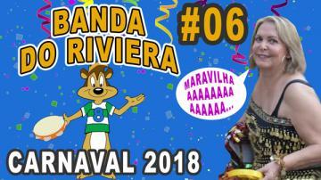 """Bloco """"Banda do Riviera"""" - Marisa agradece"""