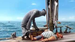 """""""A Morte dos Mares"""" - Curta Animado"""
